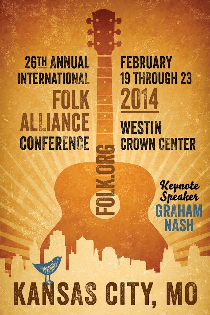 Folk Alliance conference poster