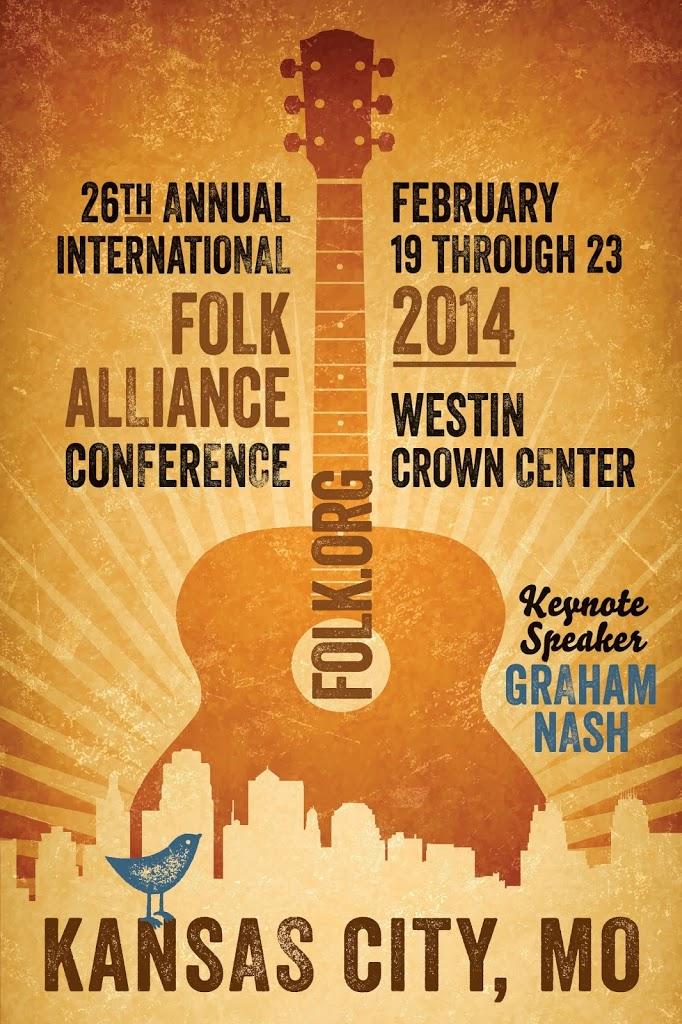 Folk Alliance conference poster