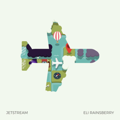 "Cover Art for the Soundtrack to the video game ""Jetstream"""