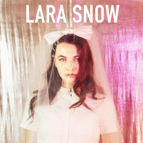 """Cover art for Lara Snow's new single, """"Butter Knife"""""""