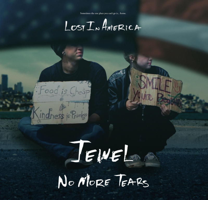 "Cover art for ""No More Tears."" new single by singer-songwriter, Jewel"