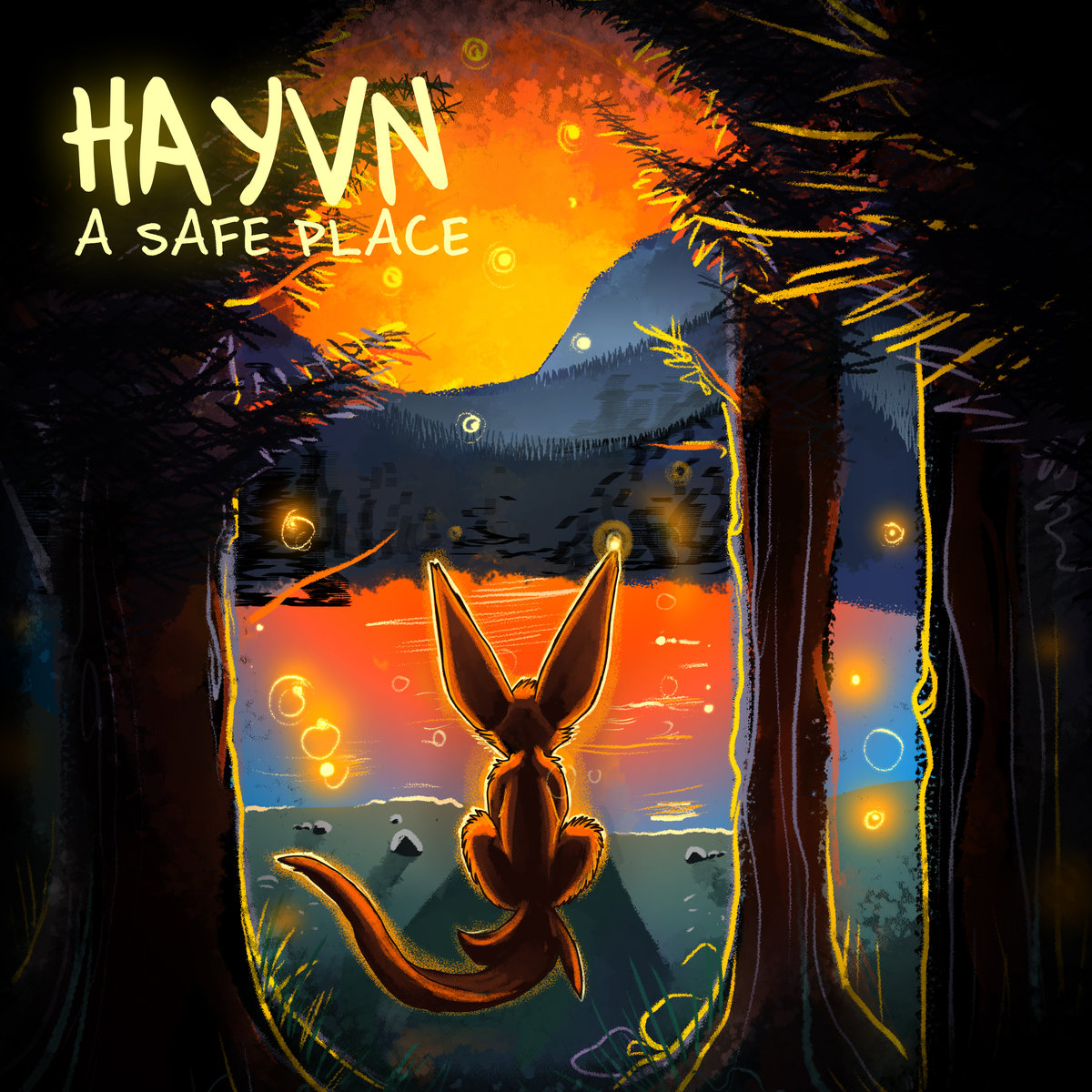 Cover art for single by composer Hayvn