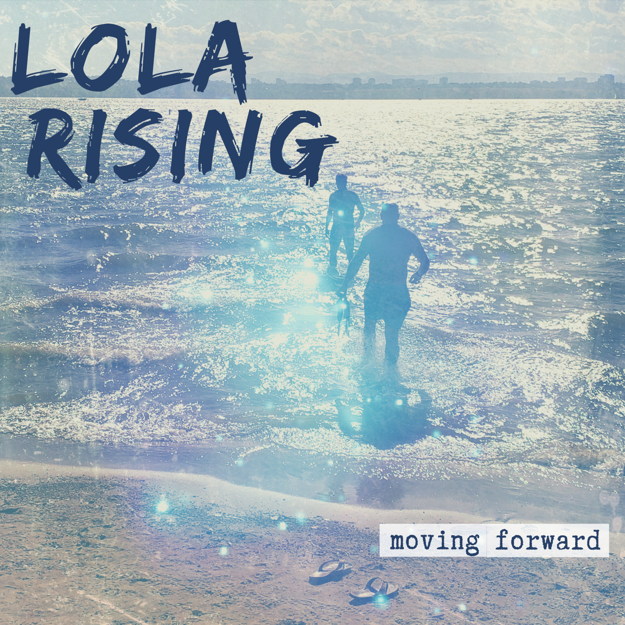 "Cover art for Lola Rising's new EP, ""Moving Forward"""