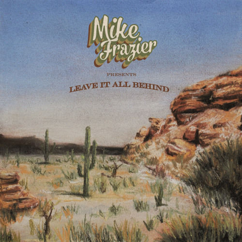 "Cover art for single, ""Among the Desert Stars,"" by rolk roots musician, Mike Fazier"
