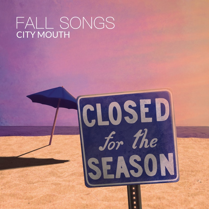 "Cover art for City's Mouth single, ""Fall Songs"""