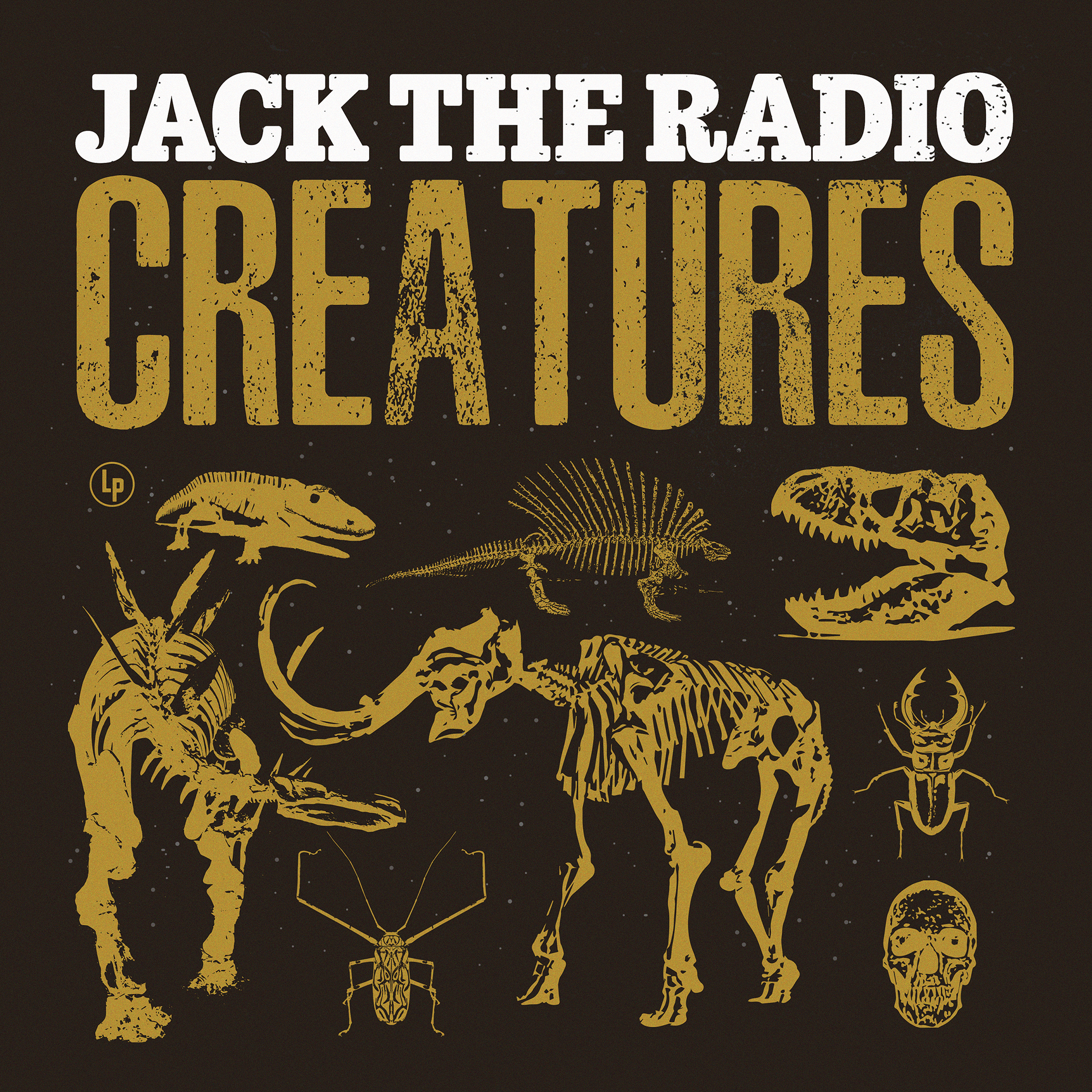 "Cover art for Jack the Radio's fifth LP, ""Creatures"""