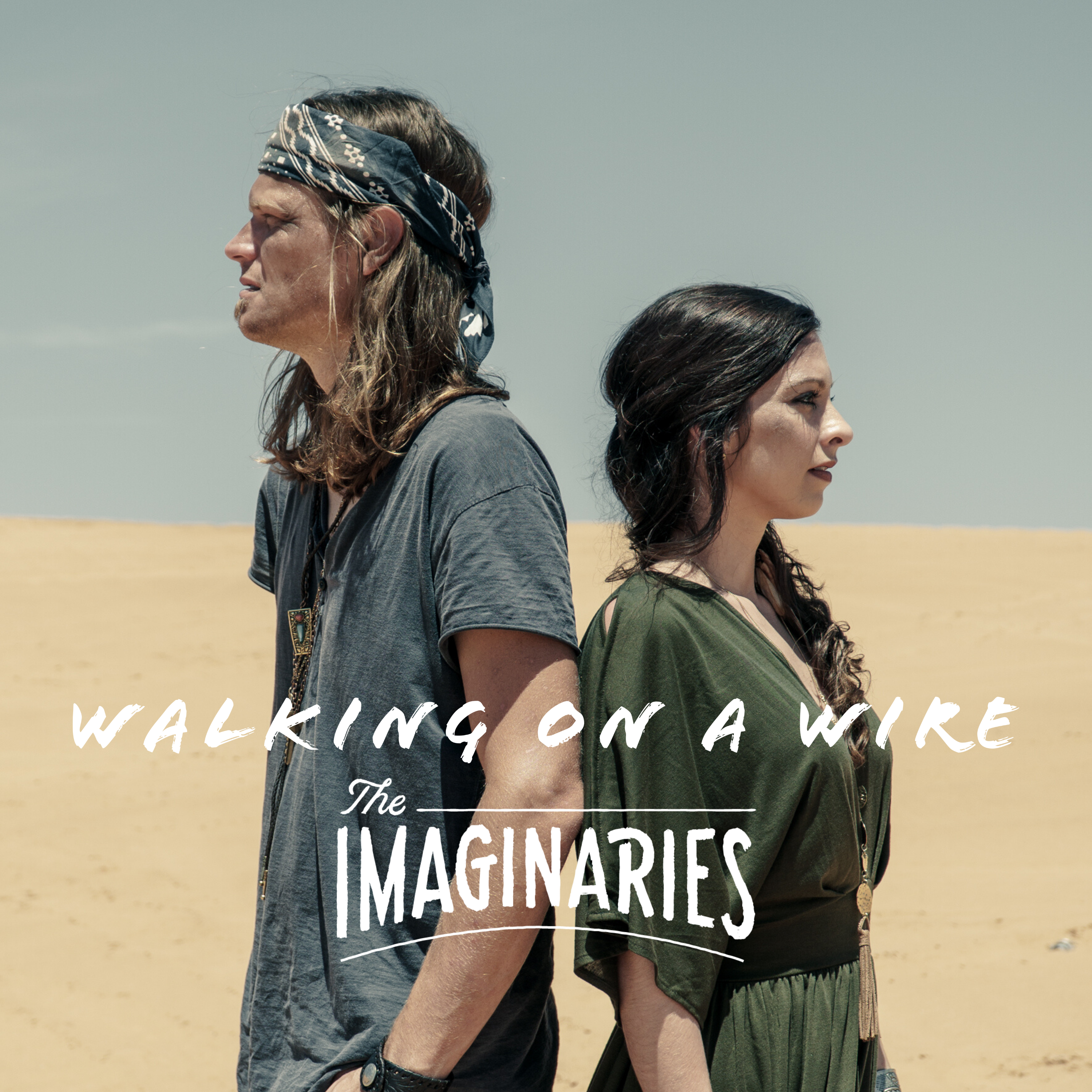 Walking On A Wire Single Cover Art Photo by Chad Cosper