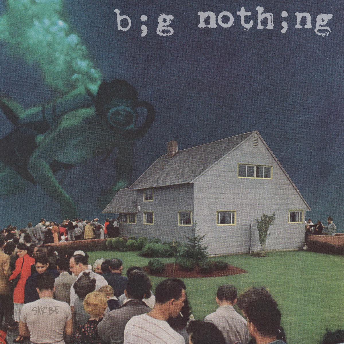 "Cover art for ""Big Nothing"" single by singer-songwriter Skribe"